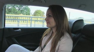 Hot Babe Needs To Fuck Cabbie's Cock Or Has To Walk - Fake Taxi