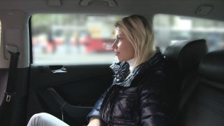Blonde Satisfies Cabbie's Demands With A Cock Up Her Wet Pussy - Fake Taxi