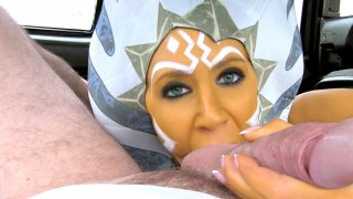 Star Whores the cock awakens - Fake Taxi