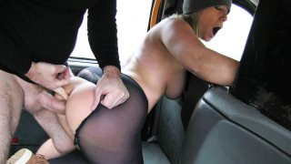 Lady Wants Cock to Keep her Warm - Fake Taxi