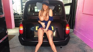 Long Legs Tattoos and Great Tits - Fake Taxi