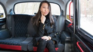 Busty French Asian Tries Euro Cock - Fake Taxi