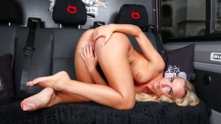 Wild pussy banging in van with Victoria Pure - Bums Bus