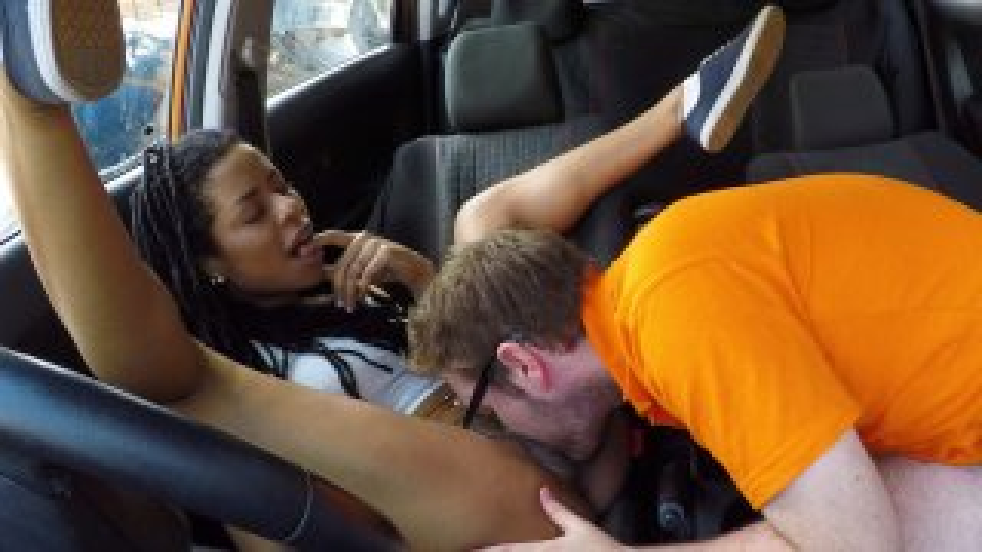 Ebony American minx craves creampie - Fake Driving School