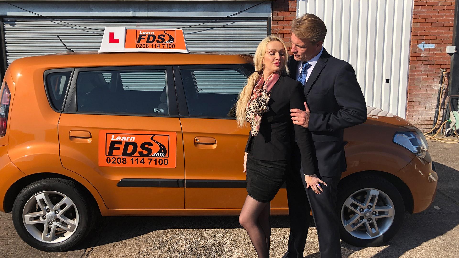 Reliving Sexual Memories - Fake Driving School
