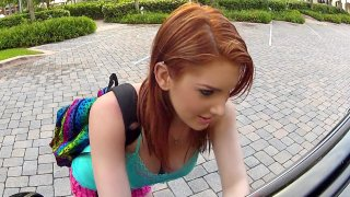 Stranded Redhead Teen Wants That Dick - Stranded Teens