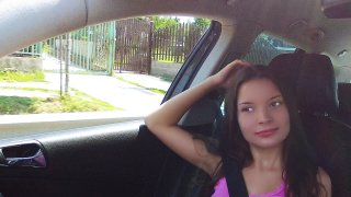 Tangling Tongues with the Hitchhiker - Stranded Teens