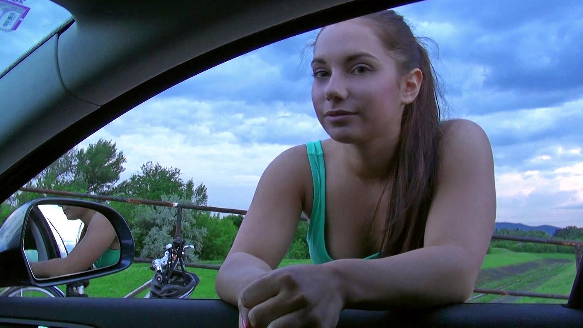 Driving Blowjob Amateur Girl - Stranded Teens