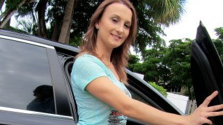 Indiana Cutie Banged in the Car - Stranded Teens