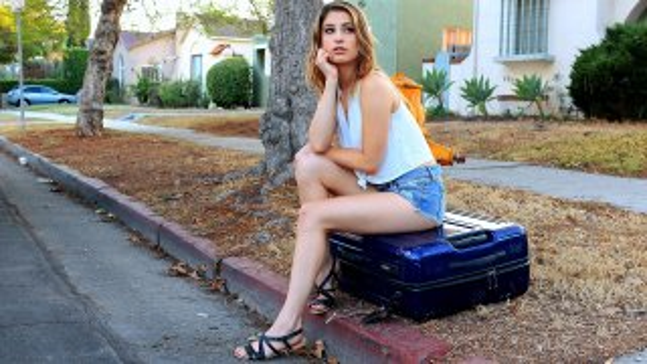 Kristen's Long Legs and Multiple Orgasms - Stranded Teens