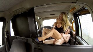 Broke Student Gets Thrown a Bone - Female Fake Taxi
