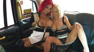 Sexy Orgasms with Redheads Sex Toys - Female Fake Taxi