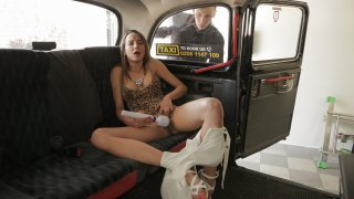 Neighbourly sexual favours - Female Fake Taxi