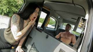 Dance for your Free Ride Big Boy - Female Fake Taxi