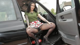 Sex Doll Watches Cabbie Cheat - Fake Taxi
