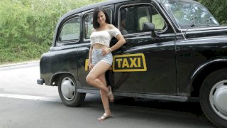 Time To Party in Billie's Taxi - Female Fake Taxi
