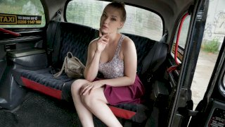 Hot Russian Tries English Sausage - Fake Taxi